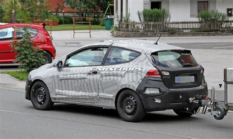 auto 3 porte ford 2017 3 porte 2017 le foto spia anteprime