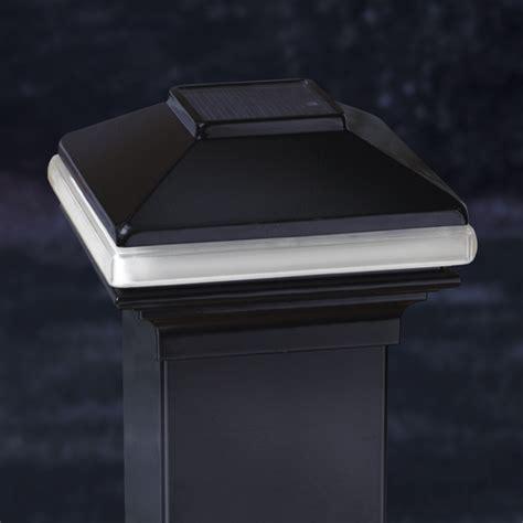 Solar Lights For Deck Railings Deckorators Solarband Post Cap