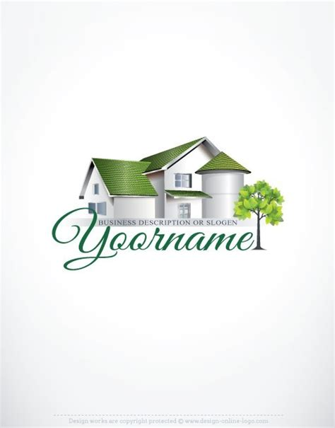 home design logo free exclusive design real estate house logo free business card