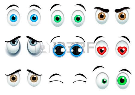 imagenes de ojos grandes chistosos ojos caricatura pictures to pin on pinterest pinsdaddy