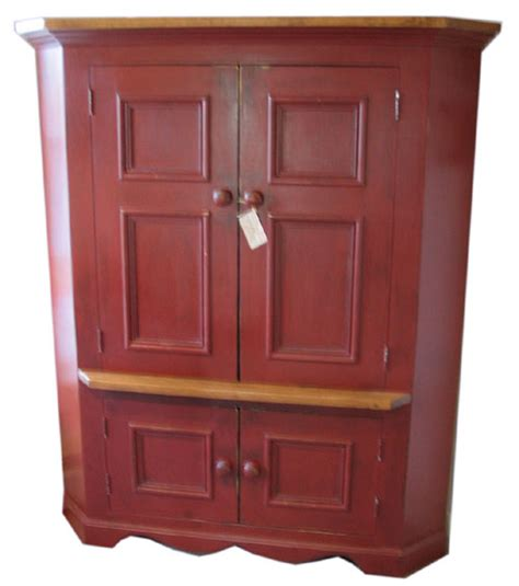 Corner Television Armoire by Kate Furniture Winter Sale Corner Tv Armoire