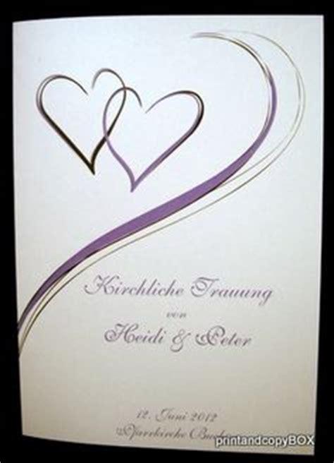 Hochzeitseinladung Deckblatt by 1000 Images About Kirchenhefte On Hochzeit