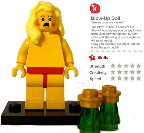 Lego Doll D127 1 6 Set Go up doll flickr photo