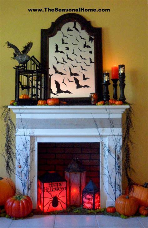 spooky fireplace 171 the seasonal home