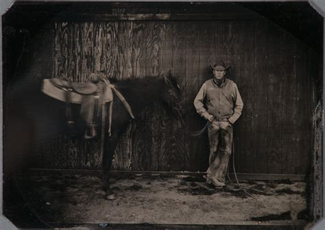 cowboy stole my a river ranch novel books ransom center acquires collection of contemporary tintypes