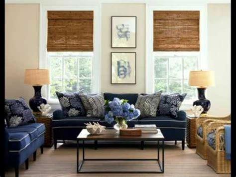 Blue Sofa Decor by Navy Blue Decorating Ideas