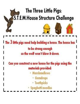 stem engineering houses for the three pigs with lego the three little pigs stem activity by choosejoyalways tpt