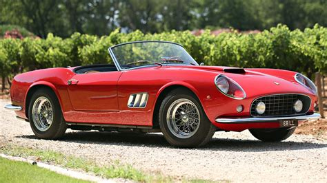 will this 250 gt california spider fetch 18m