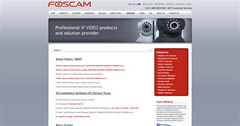 foscam ip tool using your foscam wireless ip with enblink enblink