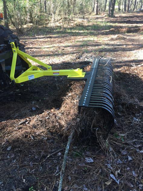 Landscape Rake Rock Removal Landscape Rock Rake 3 Point Soil Gravel Lawn Tow