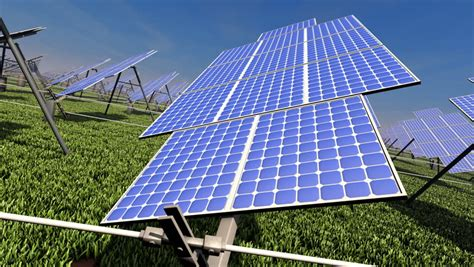 time lapse of tracking solar panel time lapse animation of solar panels tracking the sun