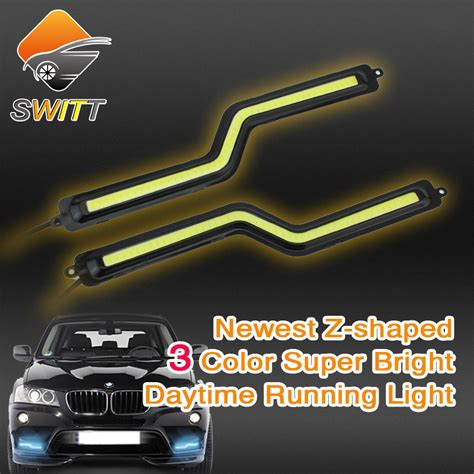 aliexpress com buy 4 piece picture running white horse aliexpress com buy 2pcs lot auto car drl led z shaped