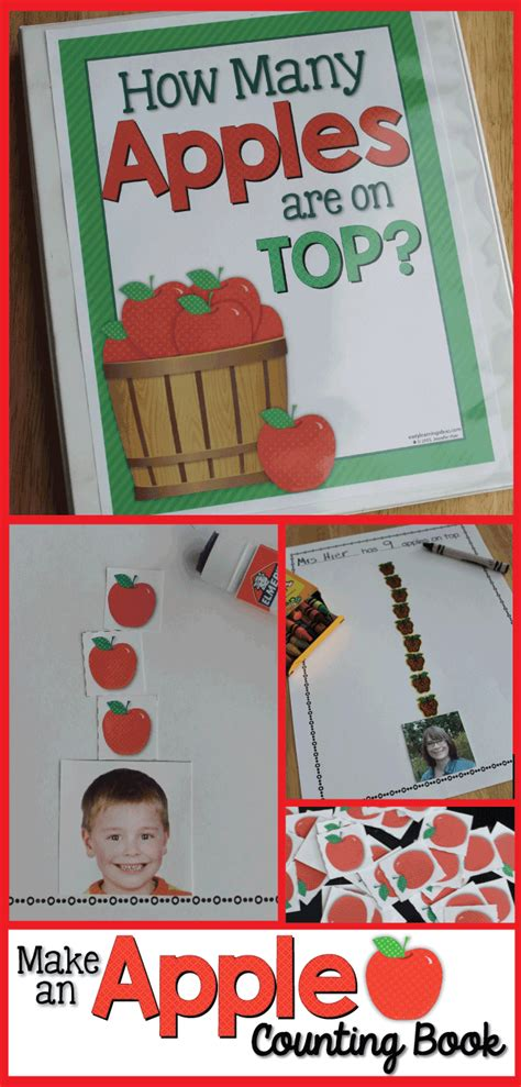 my apple counting book free apples on top make a class apple counting book free