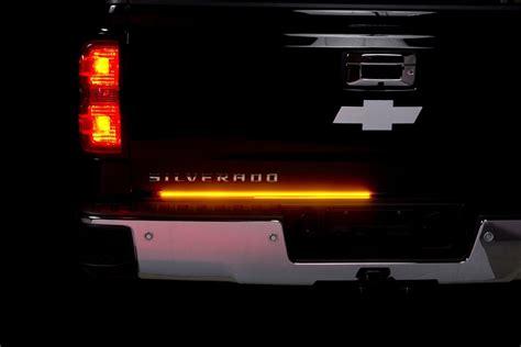 putco led light bar putco 174 blade led tailgate light bar