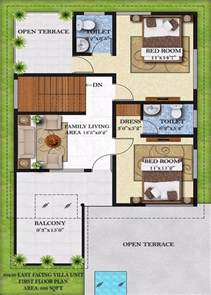 home design 50 50 40 x 50 house plans east facing