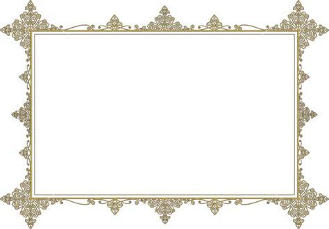 frame design high resolution golden medieval frame download high resolution png image