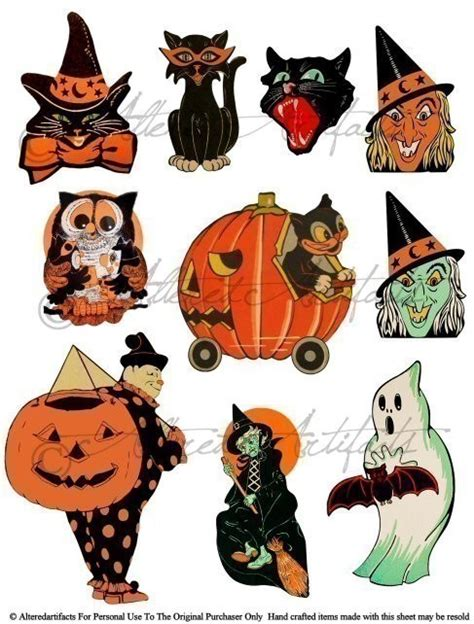 Trick Or Treat Graphic 15 free vintage clip festival collections