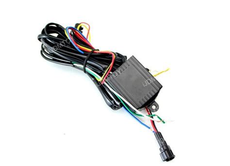 light module led daytime running light automatic on relay module box