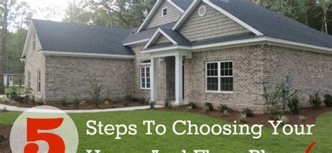 5 Steps To Choosing Your House And Floor Plan Michael Roberts Construction