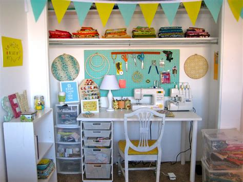 Closet Sewing Room by Reader Request Sewing Room Ideas Belclaire House