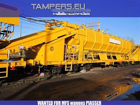 buy  sell   plassertheurer  matisa track maintenance machine