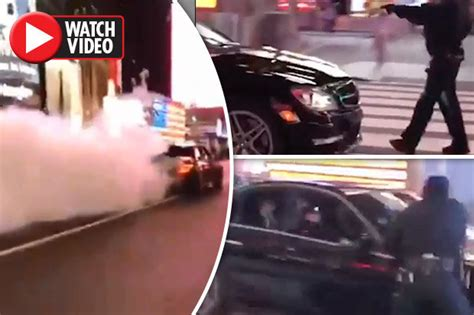 Times Square Hit And Run by Nypd Officer Is Sent Flying In Horrendous Hit And Run In