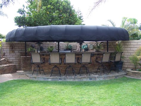bbq awning custom backyard bbq awnings