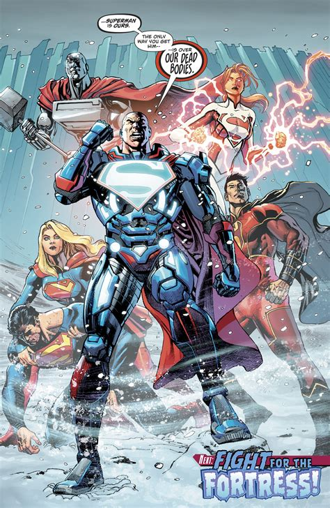 Superman Rebirth Dc Comic dc comics rebirth spoilers review comics 982 reveals a villain aiding superman vs