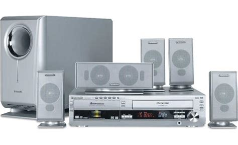 panasonic sc ht820v dvd vcr home theater system at