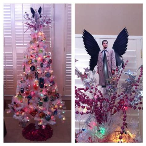 castiel christmas tree topper crafty for the geeky masses geekpr0n