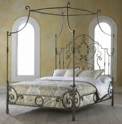 Gothic Canopy Bed hh11 136 ma couronne king metal bed