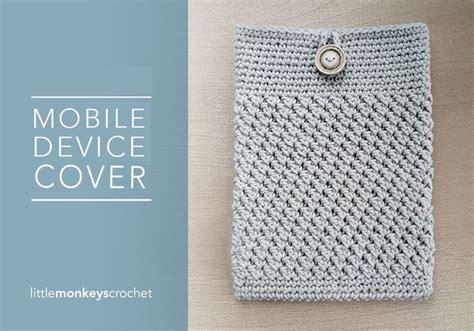 crochet ipad bag pattern ipad tablet cover free crochet pattern by little