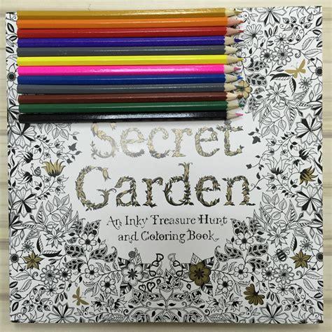 secret garden coloring book pens or pencils secret garden coloring book coloring book