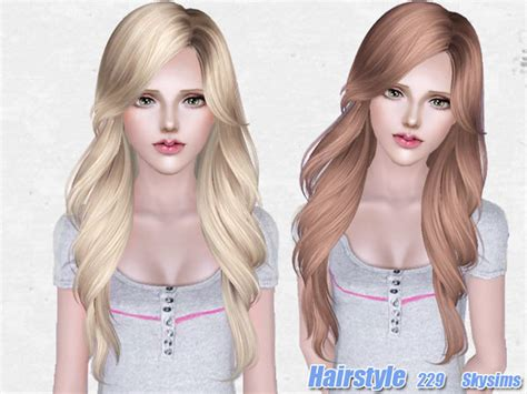 pretty sims cc hairstyles short the sims 3 beautiful hairstyle 229 by skysims