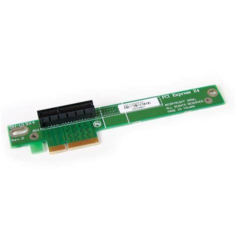 Riser Card System X3550 M5 Pcie Riser 1 00ka063 pci express riser card pcie x4 for 1u server chassis startech