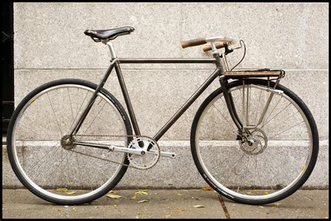 Fixed Gear Front Rack by Fast Boy Cycles Fixed Porteur Bike