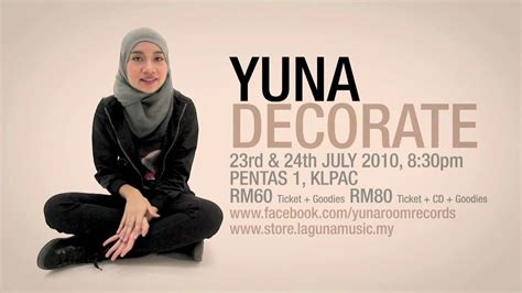 yuna decorate official promo youtube