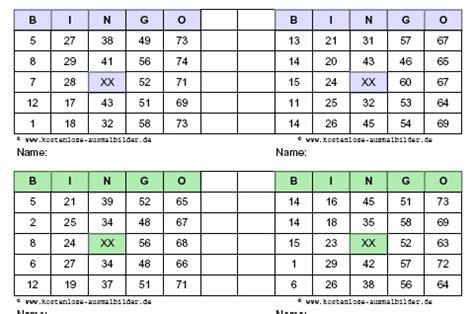Vorlage Word Spielkarten Bingo Vorlagen Bingo Vorlagen Ausdrucken Vorlagen