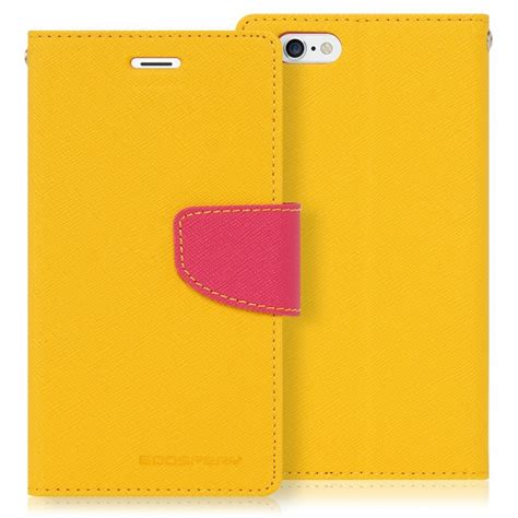 Sarung Mercury Fancy Diary Iphone 7 Plus 55 Inch Coklat mercury obal fancy diary iphone 5 5s 5se yellow pink