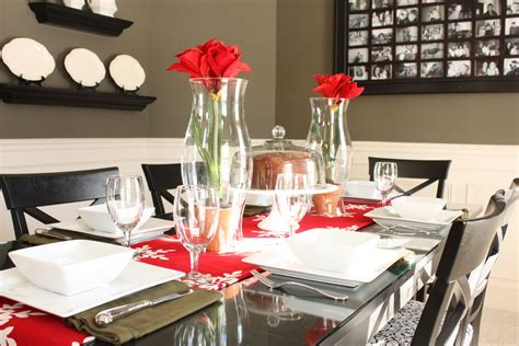 dining room table christmas decoration ideas