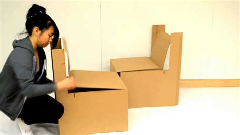 How To Make A Chair Out Of Cardboard rsid cardboard chair project