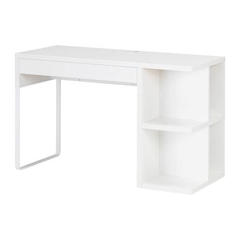ikea micke desk white micke desk with integrated storage white ikea