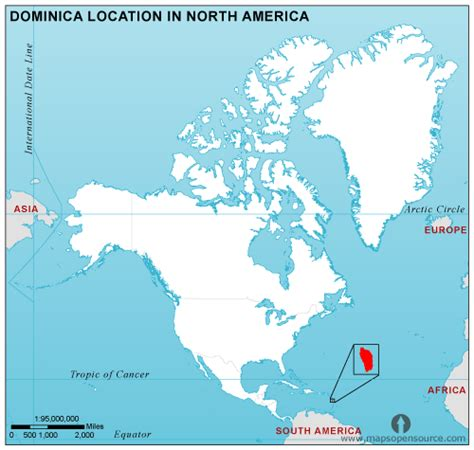 dominica on world map dominica country profile free maps of dominica open