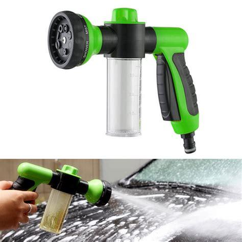 Sho Snow Wash 8 spray pattern adjustable water gun high pressure for car wash snow foam clean ebay