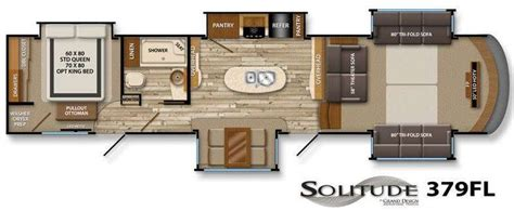 front living room 5th wheel floor plans floor plans luxury fifth wheel and living room floor