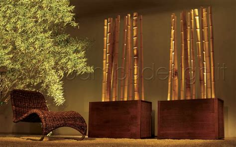 canne di bambu per arredamento illuminazione d atmosfera bamb 249 design