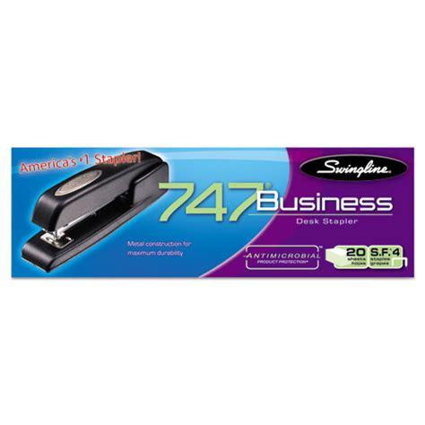 swingline 747 business desk stapler 747 business full strip desk stapler 25 sheet capacity