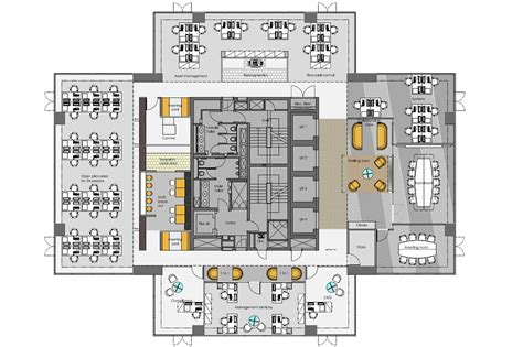 office interior layout plan office interior design space planning zentura
