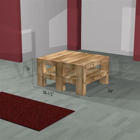 canapé en palette plan table basse woodself le site des plans de meubles gratuits