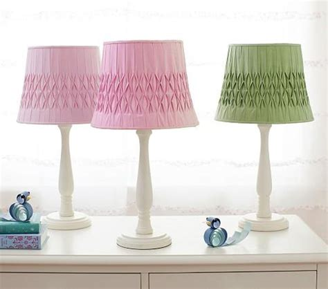 l shades for girls bedroom grace shade candlestick base pottery barn kids